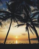 Восход солнца в Nha Trang Стоковые Изображения