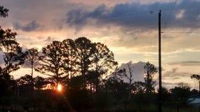 Восход солнца в Paige Стоковое Изображение RF