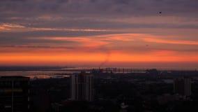 Восход солнца Гамильтона Стоковая Фотография
