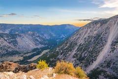 Восход солнца горы Beartooth Стоковая Фотография