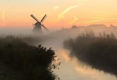 Восход солнца заболоченного места Стоковые Фотографии RF