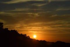 Восход солнца/заход солнца Стоковые Изображения RF