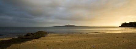 Восход солнца залива полета Стоковые Изображения RF