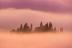 восход солнца Италии Стоковые Фотографии RF