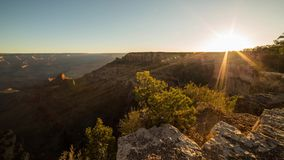 восход солнца каньона грандиозный видеоматериал