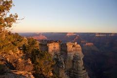 восход солнца каньона грандиозный Стоковые Фото