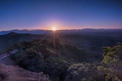 Восход солнца каньона Waimea Стоковое Изображение RF