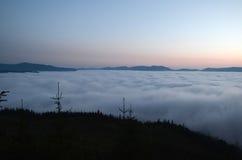восход солнца красивейшей весны природы лужка иллюстрации положительной солнечный Стоковая Фотография