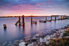 Восход солнца Луизианы стоковые изображения rf