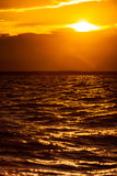 Восход солнца над Балтийским морем Стоковые Фото
