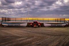 Восход солнца на взморье Стоковые Изображения RF