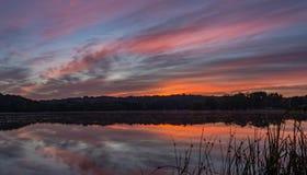 Восход солнца на Ганновере Стоковые Фото