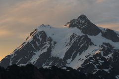Восход солнца на держателе Shuksan Стоковое Изображение