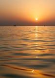 Восход солнца на Индийском океане/Фуджейре ОАЭ Стоковая Фотография RF
