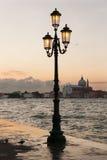 Восход солнца над Ла Guidecca, Италией Стоковое Изображение RF