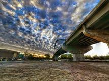 Восход солнца на Миссури Стоковое Изображение