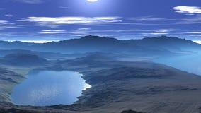Восход солнца над скалами моря видеоматериал
