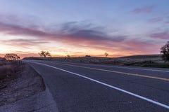 Восход солнца на Скотте rd стоковые изображения rf