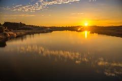 Восход солнца на Сэм Phan Bok Стоковое Изображение