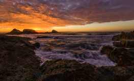 Восход солнца на сломленной голове Стоковое Фото