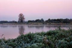 Восход солнца над черепашкой Стоковое Изображение