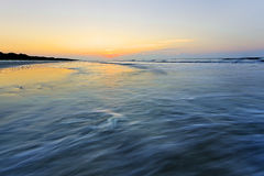 Восход солнца на Hilton Head Island Стоковая Фотография