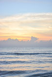 Восход солнца на hua-Hin Стоковое Изображение