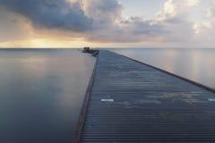 Восход солнца на Key West стоковые фото