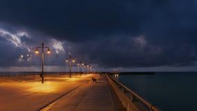 Восход солнца на Key West стоковое фото rf
