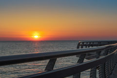 Восход солнца над Lake Ontario Стоковое фото RF
