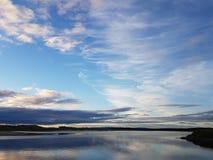 Восход солнца на Lossiemouth стоковая фотография rf