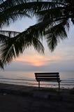 Восход солнца на Pantai Batu Hitam Стоковые Фотографии RF