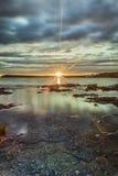 Восход солнца на Tobermory Стоковая Фотография