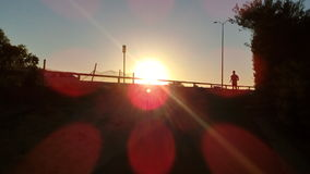 Восход солнца на Tonkin Hwy Стоковая Фотография RF
