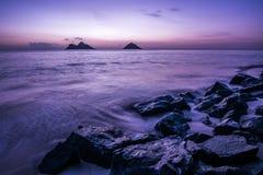 Восход солнца Оаху Стоковые Изображения