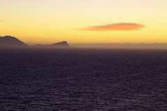 Восход солнца, ложный залив (I) Стоковое фото RF