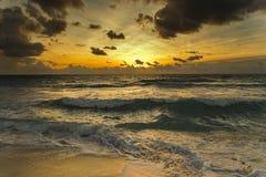 Восход солнца океана Стоковая Фотография