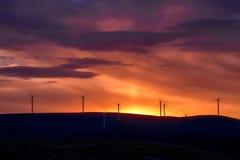 Восход солнца от Buzludzha стоковая фотография