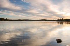 Восход солнца парка Algonquin Стоковые Изображения RF