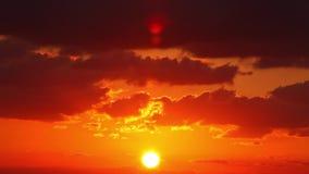 Восход солнца (промежуток времени) сток-видео