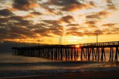 восход солнца пляжа стоковое фото rf