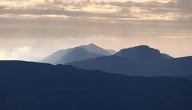 Восход солнца района озера Стоковое Изображение