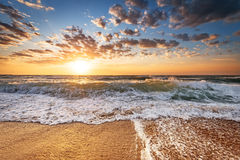 восход солнца раннего утра Стоковое Изображение RF