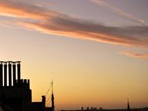 Восход солнца 3 Стоковое Изображение
