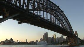 Восход солнца Сиднея видеоматериал