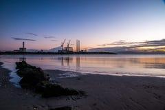 Восход солнца стренги Sandymount Стоковые Изображения RF
