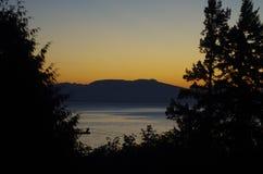 восход солнца США океана florida destin Стоковое Изображение RF