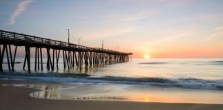 Восход солнца с 14-ой пристани 2 st Стоковое Изображение
