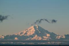 восход солнца Теннесси США большого национального парка гор горы закоптелый Стоковое Фото