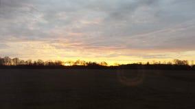 Восход солнца Теннесси Стоковые Изображения